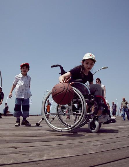 סופש ילדים, נגישות (צילום: גיא טייב)