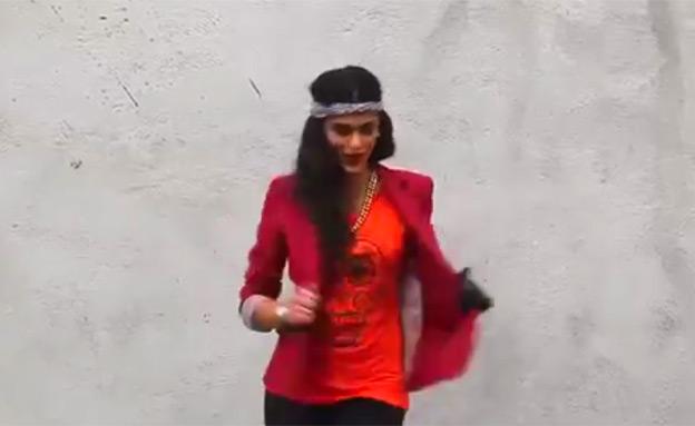 רוקדים בטהרן (צילום: יוטיוב)