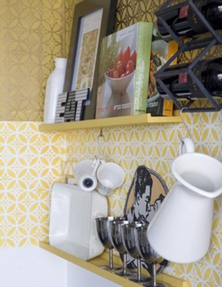סורנה כפיר, קיר צהוב גובה