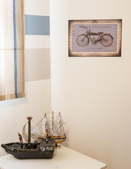 חדר ילד סירה (צילום: אורית אלפסי)