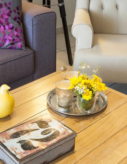 שולחן סלון (צילום: אורית אלפסי)