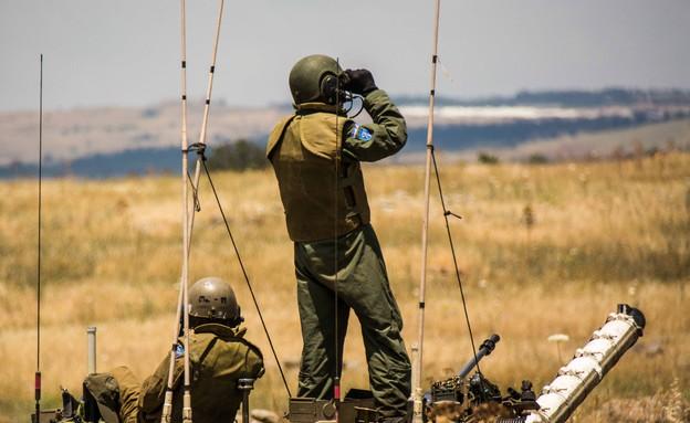 """אימון שריון (צילום: דובר צה""""ל)"""