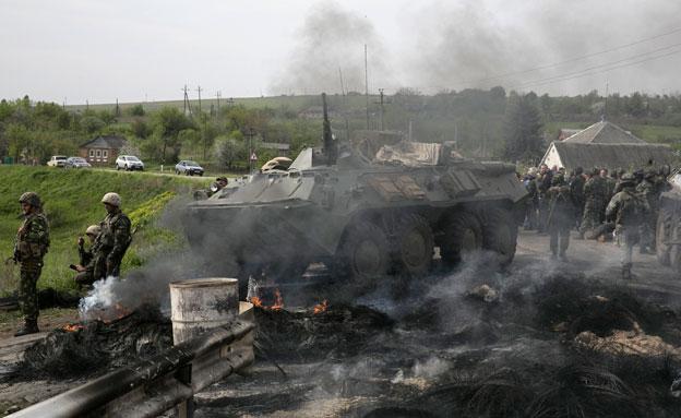 אוקראינה: 20 בדלנים נהרגו בקרבות. ארכיון (צילום: רויטרס)