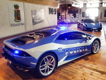 למבורגיני הורקאן משטרת איטליה