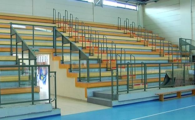 אולם הספורט בבית הספר (צילום: חדשות 2)