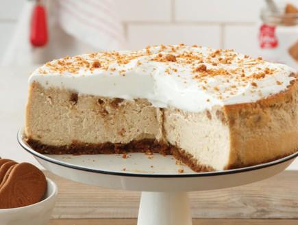 עוגת גבינה לוטוס אפויה (צילום: דניה ויינר, לוטוס)