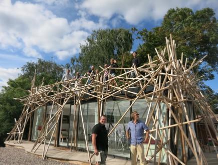 אי המחשבות, מבנה מגורים (צילום: Fredrik Härén)