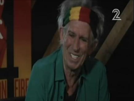 קית' ריצ'ארדס (צילום: חדשות 2)