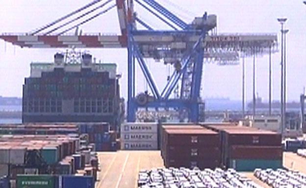 נמל אשדוד (צילום: חדשות 2)