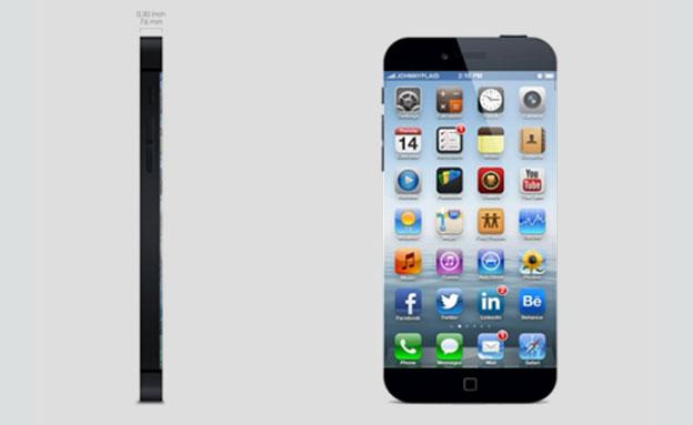איך ייראה האייפון החדש? (צילום: יוטיוב)