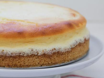 עוגת גבינה אפויה (צילום: עידית נרקיס כ