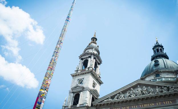 הכי גבוה בעולם (צילום: the construction index)
