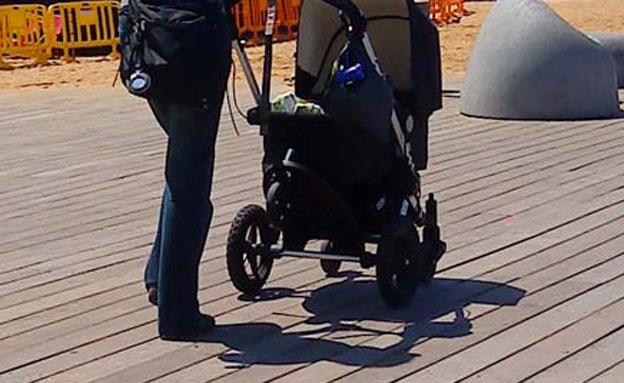 עגלת תינוק (צילום: מאור רוזנשטיין)