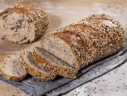 מכינים לחם מחמצת. התוצאה