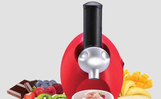 מכשיר להכנת גלידה Yami (צילום: יעקב הררי,  יחסי ציבור )