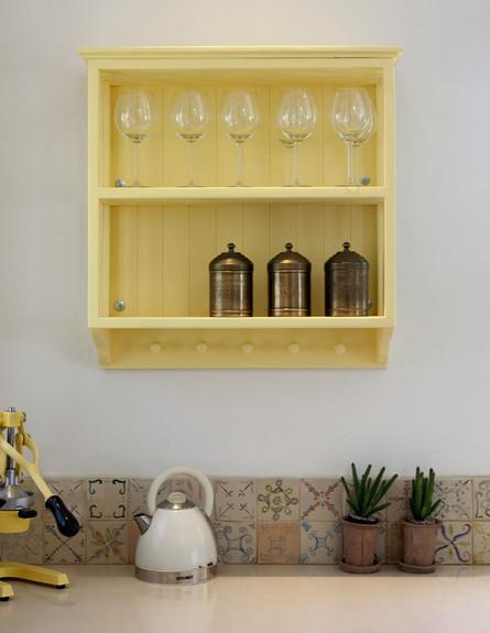 יעל עצמון, יחידה במטבח גובה (צילום: הגר דופלט)