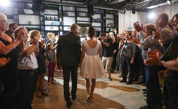 החתונה של יהיה ועמית (צילום: ליאור ניר)