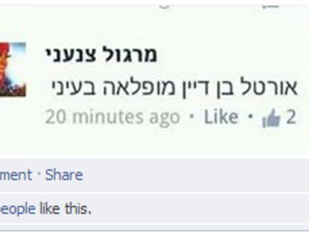 מרגול - תגובה לאורטל בן דיין  (צילום: צילום מסך, פייסבוק)