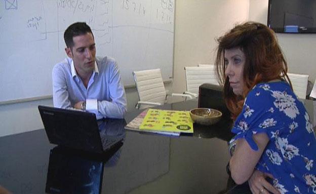 """כתבת אולפ""""ש על נמרוד ניר, דפנה ליאל (צילום: חדשות 2)"""