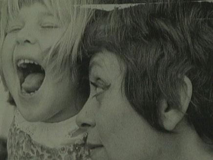 מרון בצעירותה עם בתה דפנה רכטר