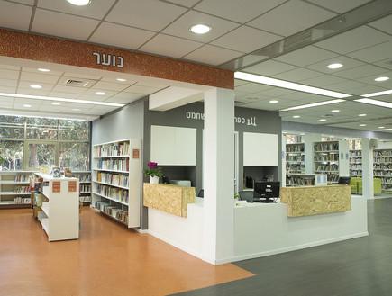 אדריכלות ועיצוב - ספריות. בית השחמט (צילום: מיכל פרגו)