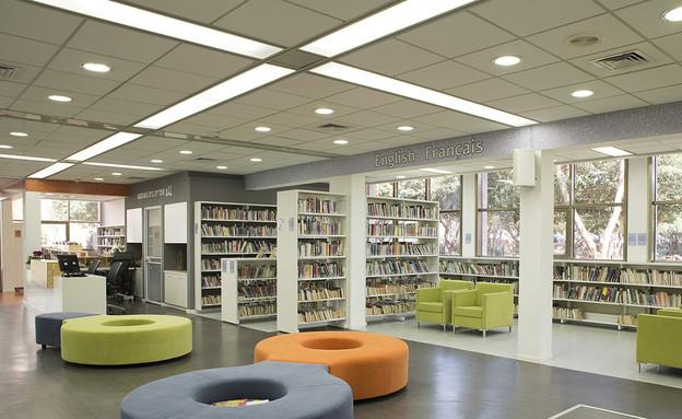 אדריכלות ועיצוב. ספריות. בית השחמט (צילום: מיכל פרגר)