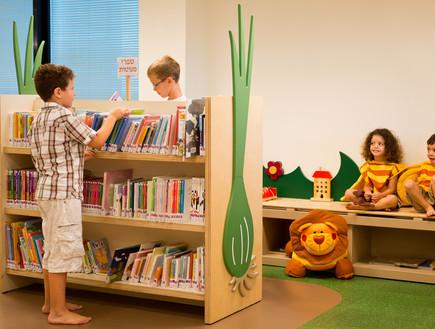 ספריות. כותר טף ראשון לציון, מירית ואיקה אדריכליות (צילום:  איה בן עזרי)