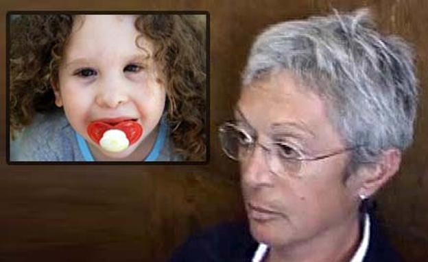 """נטע לי הקטנה ז""""ל וסווטלנה רוסו-לופו שהורשעה בהריגה (צילום: חדשות 2)"""