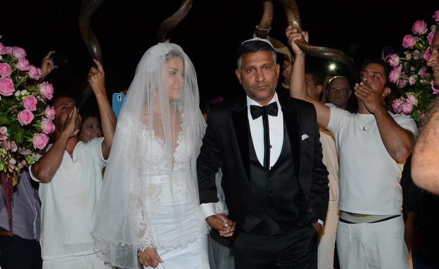 חתונה ג׳ניפר סנוקל (צילום: אביב חופי)