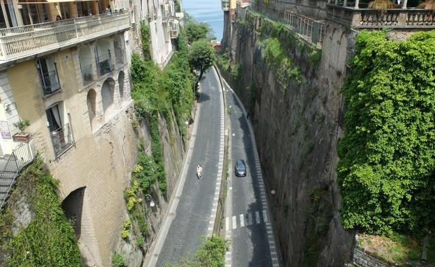 טיול באיטליה, סורנטו כביש (צילום: אייל שפירא)
