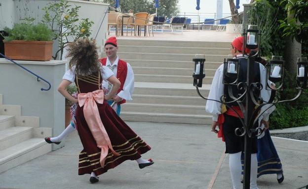 טיול באיטליה, סורנטו רקדנים (צילום: אייל שפירא)