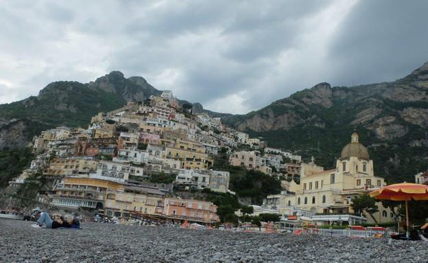 טיול באיטליה, פוזיטנו בתים (צילום: אייל שפירא)