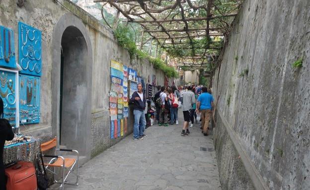 טיול באיטליה, פוזיטנו סמטה (צילום: אייל שפירא)