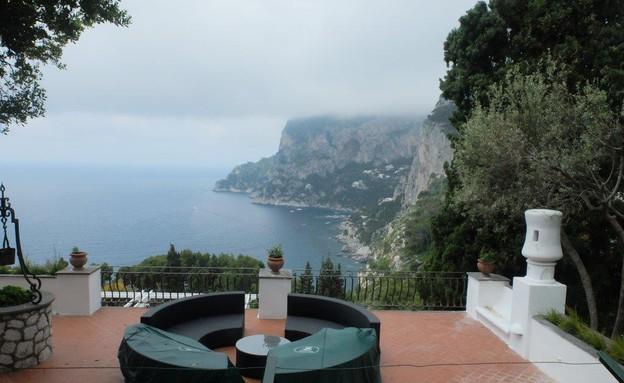 טיול באיטליה, קארפי מרפסת (צילום: אייל שפירא)
