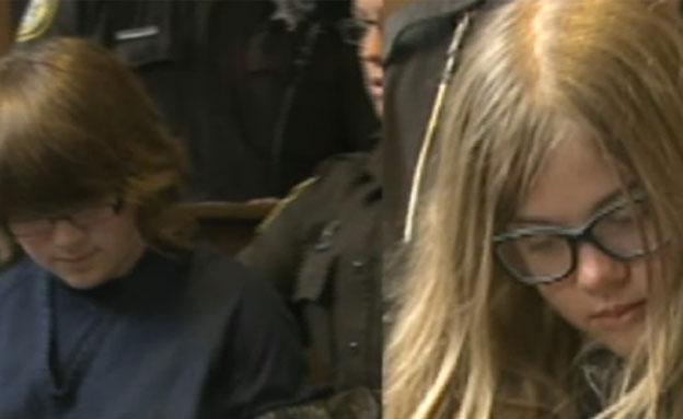 """""""בנות 12 דקרו את חברתן 19 פעמים"""" (צילום: CNN)"""
