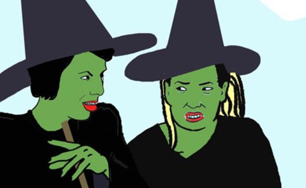 מכשפות קומיקס (צילום: תמר בלומנפלד כץ)
