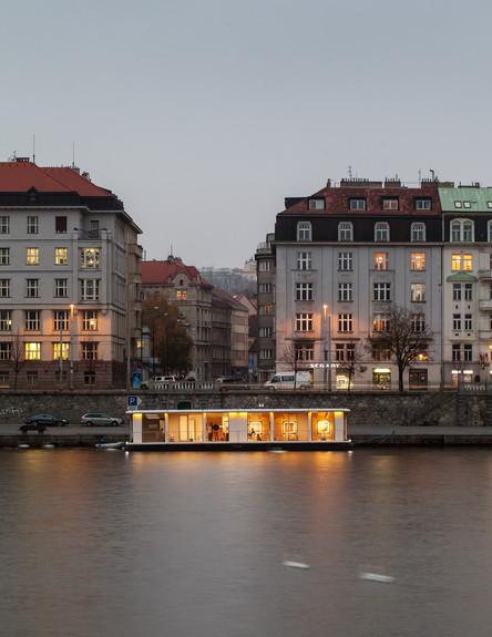בית על הנהר (צילום: Atelier SAD)