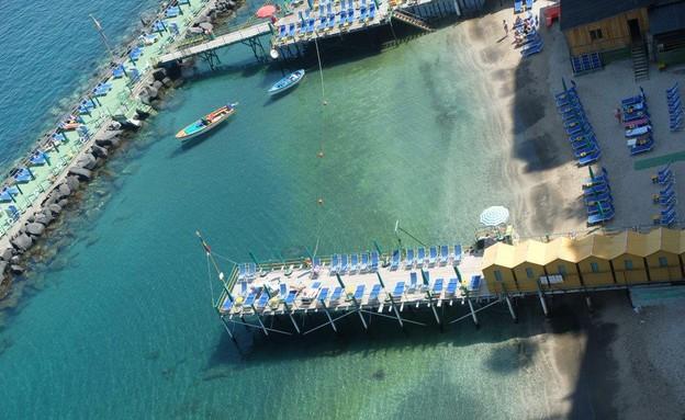טיול באיטליה, סורנטו סירות (צילום: אייל שפירא)