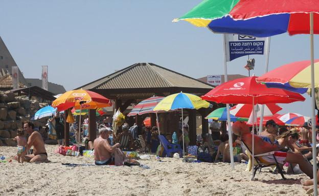 חוף ים הצוק (צילום: יעל גוולן)