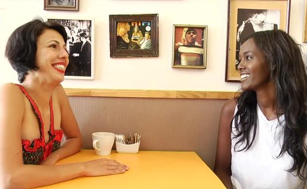 טהוניה בראיון ראשון עם אורטל בן דיין (תמונת AVI: mako)