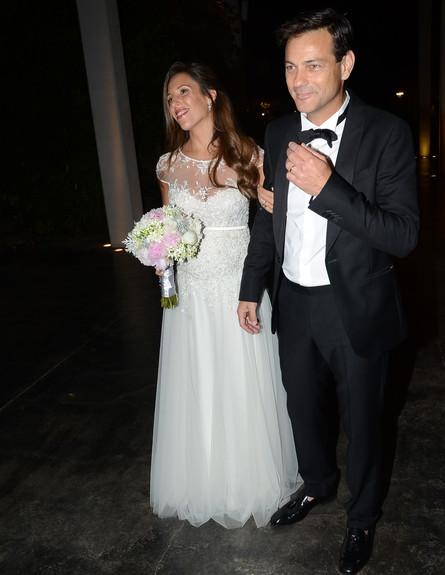 חתונה אקי אבני (צילום: אביב חופי)