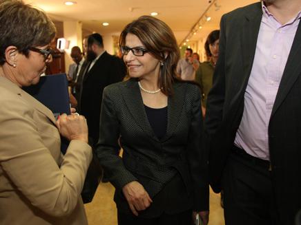 איציק ביקשה להעביר תמיכה לשטרית (צילום: דוברות הכנסת)