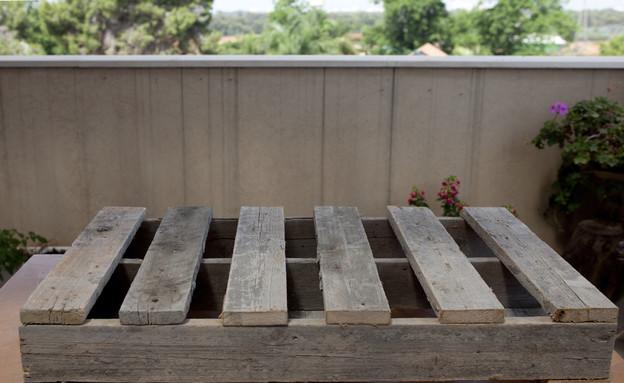 כתבת מרפסת אדנית ושבלונה 1A (צילום: טטיאנה פאוטוב)