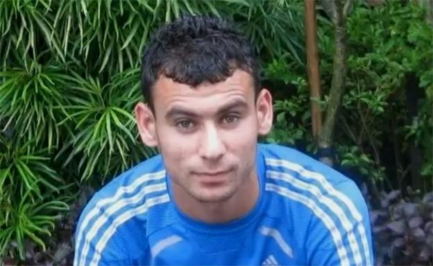 סאמח מראעבה, שחקן נבחרת פלסטין בכדורגל