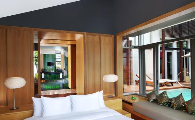 מלון אדריכלים, קוסמוי  (צילום: W Retreat Koh Samui)