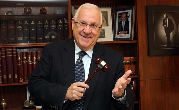 """יו""""ר הכנסת רובי ריבלין (צילום: דוברות הכנסת)"""