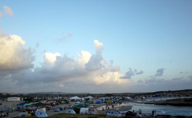 קמפינג בים (צילום: שי גל 2, צילום ביתי)