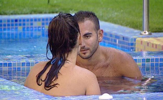 אחי ואנה בשיחה רומנטית (תמונת AVI: mako)