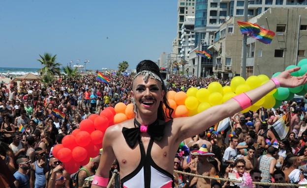 מצעד הגאווה 2014 (צילום: כפיר סיון)