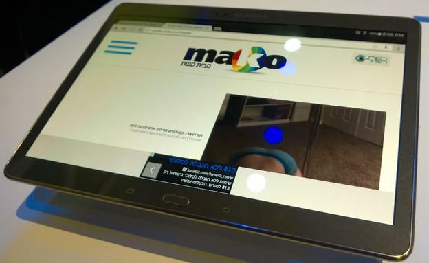 טאבלט ה-Galaxy Tab S 10.5 של סמסונג (צילום: יאיר מור, ניו-יורק, NEXTER)